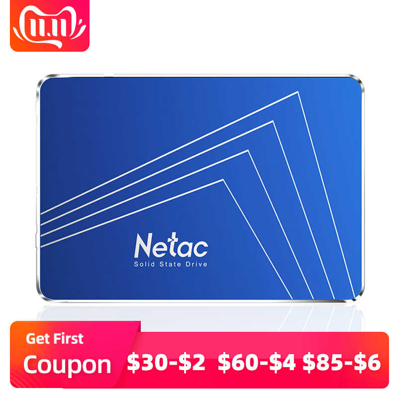 Netac N600S SSD 720 GB ТБ 2,5 дюймов SATA 3 HD SSD жесткий диск 720 GB 1 ТБ ноутбук Внутренний твердотельный диск для ноутбука Настольный ПК