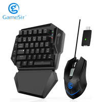 GameSir VX AimSwitch Gaming Keyboard Mouse for Xbox One/ Xbox One S/ Xbox One X/ PS4/ PS4 Slim/ PS4 Pro/ Nintendo Switch/ PS3
