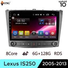 Iying sem fio carplay para lexus is250 is200 is220 is30 2005-2013 rádio do carro reprodutor de vídeo multimídia navegação gps android 10