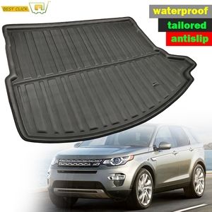 Rear Cargo Liner Cargo Tray Trunk Floor Mat For Land Rover Discovery Sport 2015 2016 2017 2018 2019 Dog Pad Waterproof Protector