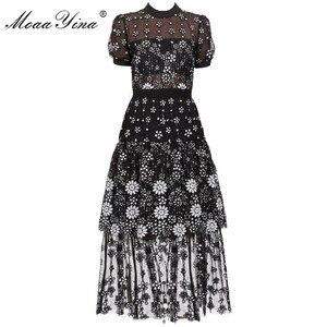 Image 1 - Женское платье миди с коротким рукавом и блестками