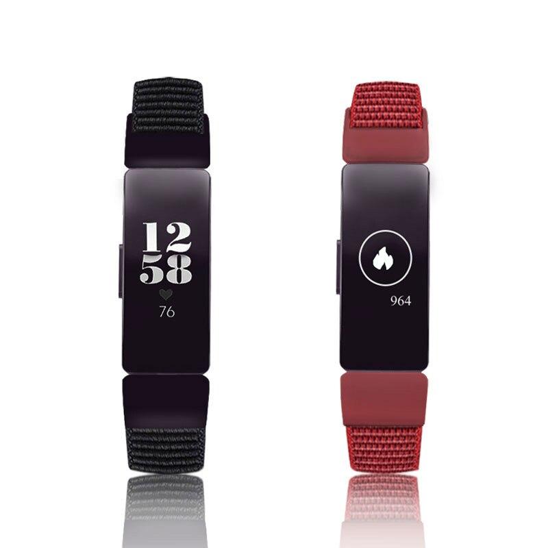 Fitbit Inspire HR ремешок сменный Браслет для Fitbit inspire нейлон наручный ремешок на липучке браслет умные аксессуары