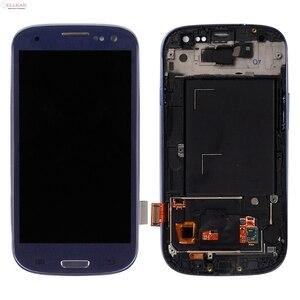 Image 4 - Catteny I9301 I9305จอแสดงผลLcdสำหรับSamsung Galaxy S3 Lcd I9300จอแสดงผลที่มีหน้าจอสัมผัสDigitizerสมัชชา + กรอบ + Homebutton