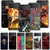 Smartphone Case For Samsung Galaxy Z Flip3 5G Z Flip 3 z flip ZF 5G Cover PC Capa Hard Funda Coque Ghost Rider Marvel Comics
