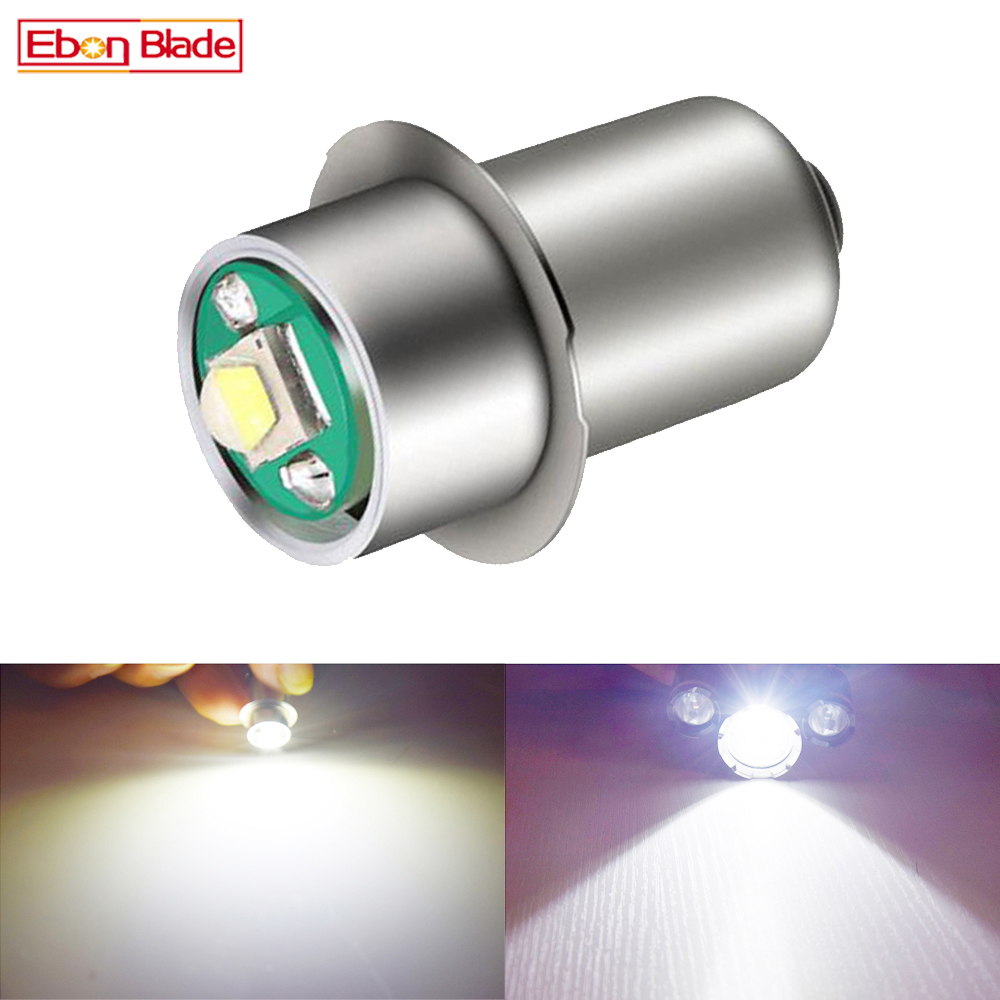 1 X <font><b>P13.5S</b></font> PR2 PR3 <font><b>3W</b></font> LED Lamp Bulb Flashlight Replacement Bulb Torch 3V-18V / 5-24V Emergency Flashlight Work Light 4.5V <font><b>6V</b></font> 12V image