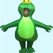 Inflatable Frog Mascot Costume Cosplay Party Game Outfits Clothing Advertising Carnival Halloween Xmas Easter Festival Adults