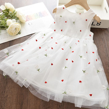 w l monsoon brand children s clothing girls dress europe and america floral children pleated princess dress cotton girl dress Dudu Girl Princess Dress New Summer Kid Girls Dress Floral Sweet Children Party Suits Butterfly Costume Children Clothing