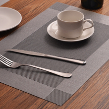 4PCS Washable PVC Placemats Coasters Bowl Stain-Resistant Insulation Placemats Table Cup Mats Kitchen Decoration Accessories artificial leather placemats non slip placemats bowls coasters waterproof table mats heat insulated table mats