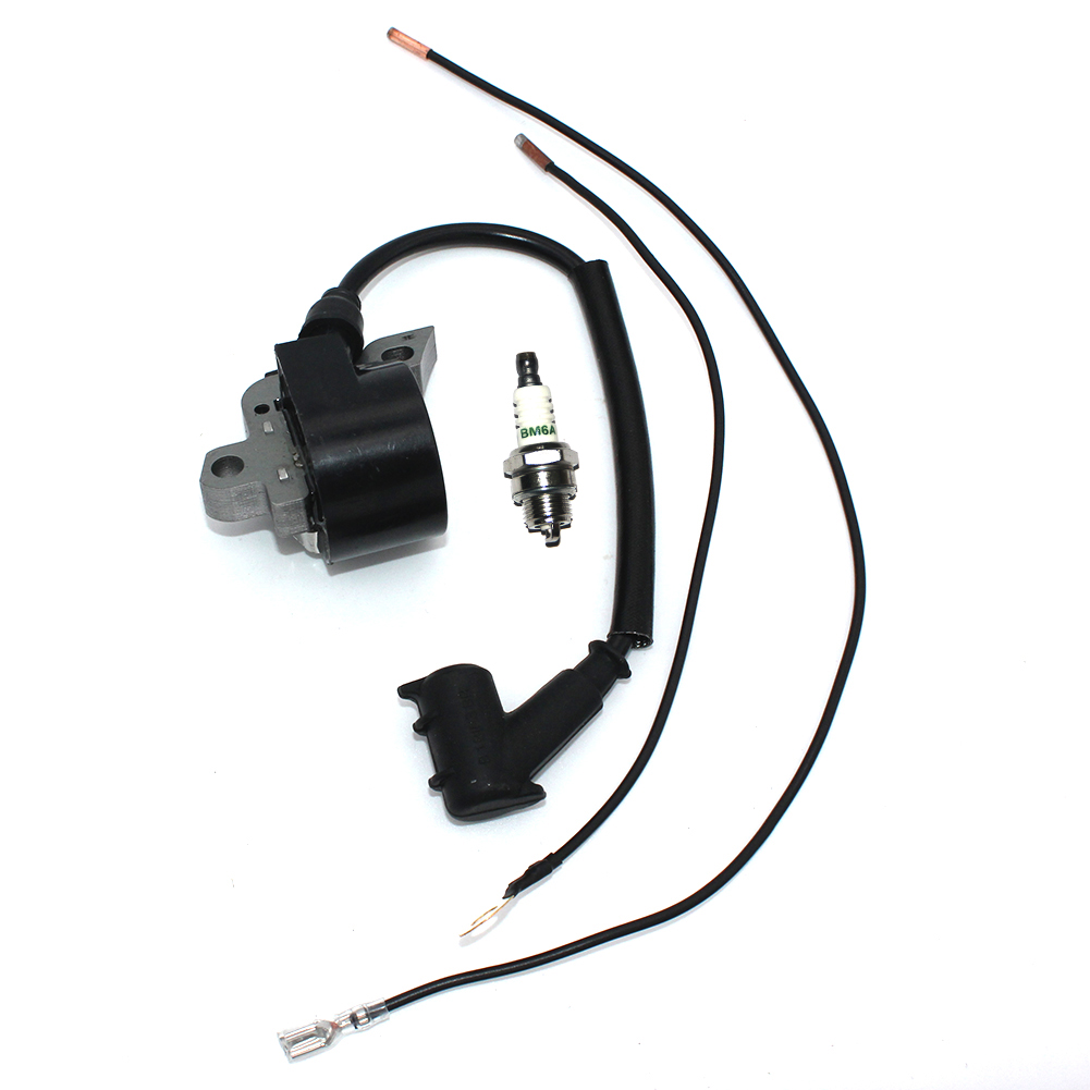 Ignition Coil With Spark Plug For Stihl MS460 MS460R MS460RZ MS460M MS460W MS460Z MS650 MS650R MS660 MS660W MS660M 046 064 066