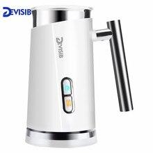 DEVISIB автоматический вспениватель Молока Паровой Электрический капучино горячий/холодный кофе из нержавеющей стали CE/GS 220 В 3 года гарантии