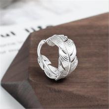 Креативные открытые кольца в этническом стиле из стерлингового