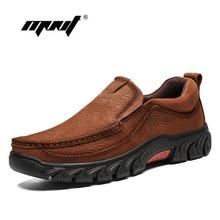 Plus Size Combat Men Boots Handmade Retro Autumn Ankle  Shoes Outdoor Waterproof Rubber