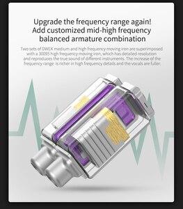 Image 3 - AK KZ ZSX 5BA + 1DD في الأذن سماعة الهجين سماعة HIFI باس إلغاء الضوضاء سماعة أذن استبدال كابل KZ AS10 ZSN ZS10 PRO