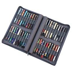 KACO Stift Fall Verfügbar für 40 Brunnen Stift/Rollerball Stift, grau Pouch Bleistift Tasche Fall Halter Storage Organizer Wasserdicht