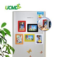 6 inch Colorful Magnetic Picture Frames 11.8*16.7cm Fridge Magnets Photo frame Office Living Room Wall Mural Decor Sticker