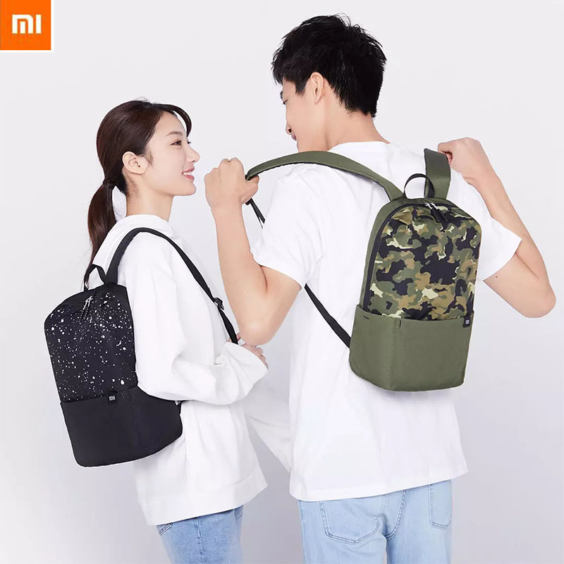 Xiaomi 10L Mini Starry Sky Camouflage Backpack Women Men 10inch Laptop Bag Level 4 Water Repellent For Student Trave Camping|Smart Remote Control| - AliExpress