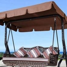 Cubierta superior a prueba de agua reemplazo del toldo para jardín patio SILLA DE columpio hamaca toldo oscilante silla toldo