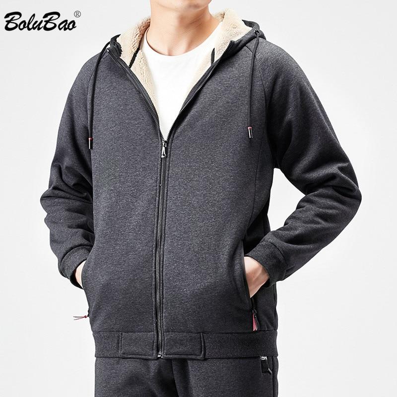 Ultimate Sale~BOLUBAO Thick Hoodies Sweatshirts Sports Winter Men Men's Fashion-Brand Casual Cashmere