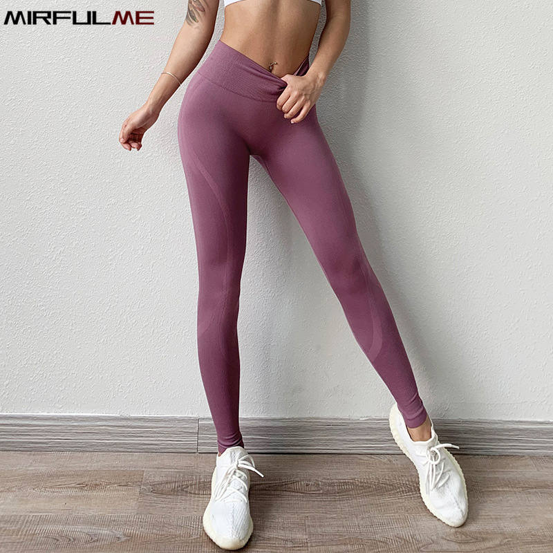 Women Yoga Pants Girl Elastic Sports Leggings Skinny Capris Compress Running Trousers Female Gym Fitness Pant Slim Dance Tights