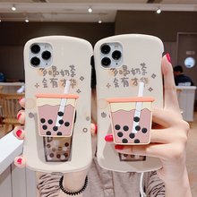 New Cute Bubble Tea Phone Case For iPhone