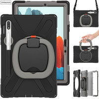Funda protectora para tableta Samsung Galaxy Tab S7 Plus, 12,4, 2020, SM T970, T975, mango resistente, 11