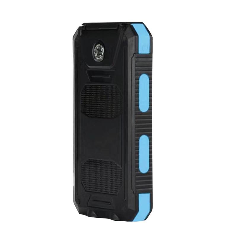 Waterproof 50000mAh Solar Panel LED Dual USB Ports + No Battery DIY Power Bank Case Battery Charger Kits Box