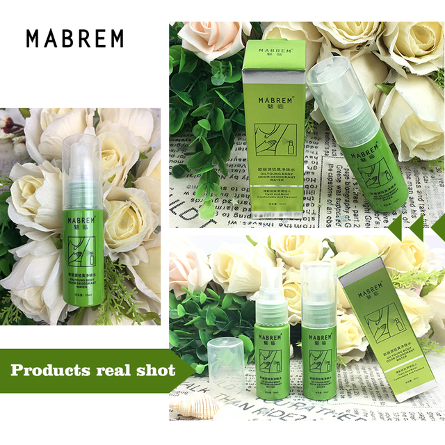 MABREM Body Odor Sweat Deodor Perfume Spray For Man and Woman Removes Armpit Odor and Sweaty Lasting Aroma Skin Care Spray 20ml 5