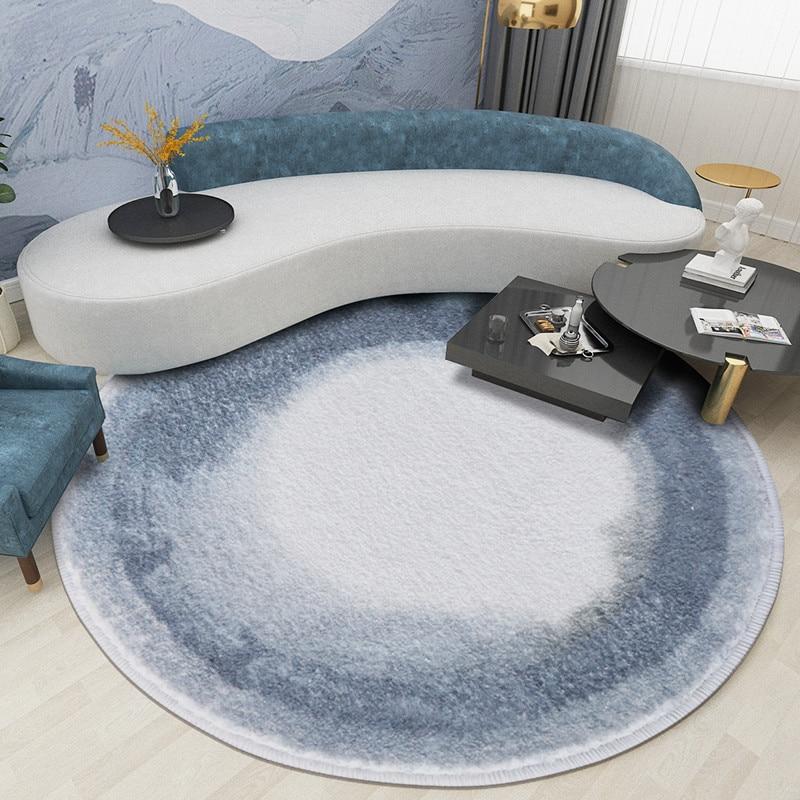 Cerne annuel Tapis rond chambre Rond Tapis Tapis Nordic Sofa table Tapis et Moquette