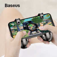 Baseus For PUBG Game Gamepad IOS Android Joystick Joypad L1 R1 Mobile Phone Game Shooter Controller Trigger Fire Button Handle