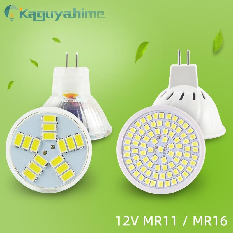 Светодиодный точечный светильник MR16, 12 В, 80 светодиодов, 10-30 в пост. Тока, 6 Вт