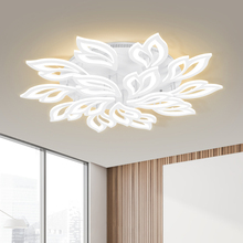 Modern Led Lighting-Fixture Chandelier-Ring Led-Lamp Bedroom Memory-Function Ce