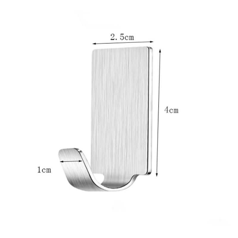 3 шт самоклеющийся кухонный крючок для задней двери новый держатель