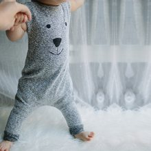 Baby Boys Clothes Sleeveless Short and Long Romper Jumpsuit Newborn Playsuit Infant Cartoon Bear Printed Clothes(China)