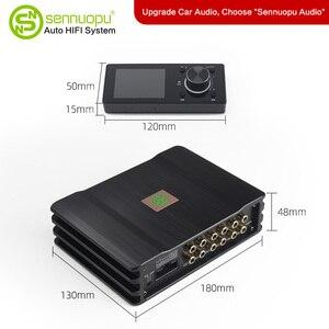 Image 5 - Sennuopu רכב DSP מגבר 8 ערוצים אקולייזר מעבד USB נגן עם LCD מרחוק בקר