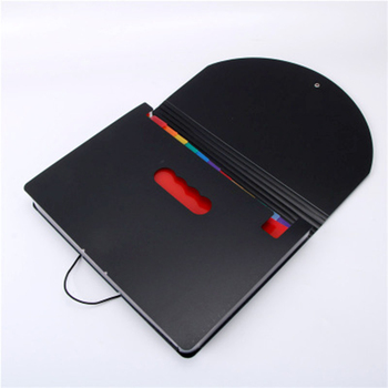 Kolorowe rozszerzenie pliku kieszenie na dokumenty Box 12 Folder Office organizer do papieru wielofunkcyjny DU55 tanie i dobre opinie 330*235mm Torba na dokumenty
