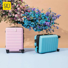 90FUN PC trolley Suitcase Carry on Spinner Wheels Rolling Luggage Password Business Travel Vacation for Women men mala de viagem letrend rolling luggage spinner oxford travel duffle password suitcase wheel carry on trolley case women cabin school bag