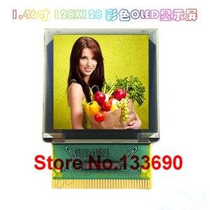 Image 2 - Полноцветный OLED дисплей 1,46 дюйма P23903, 128*128, 128x128 пикселей, брелок с параллельным интерфейсом SPI IIC I2C, драйвер SSD1351 37P XJ777