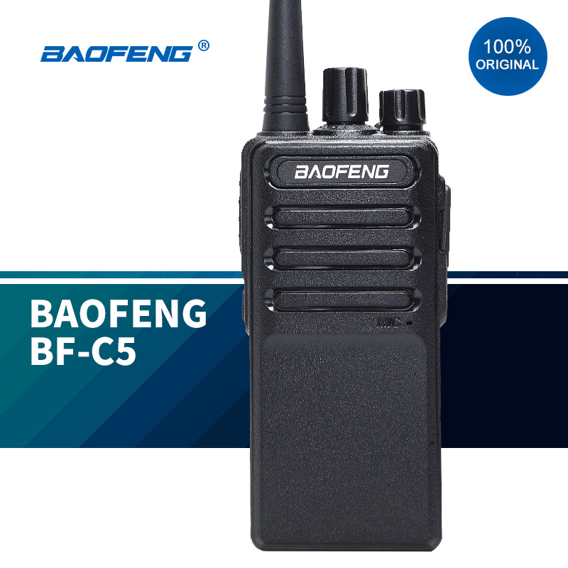 2020 New walkie talkies baofeng BF-C5 communication 5w two way radio baofeng bf888s update version outdoor walkie talkie