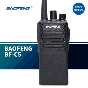 2020 New walkie talkies baofeng BF-C5  communication 5w two way radio bf888s update version outdoor talkie - discount item  58% OFF Walkie Talkie