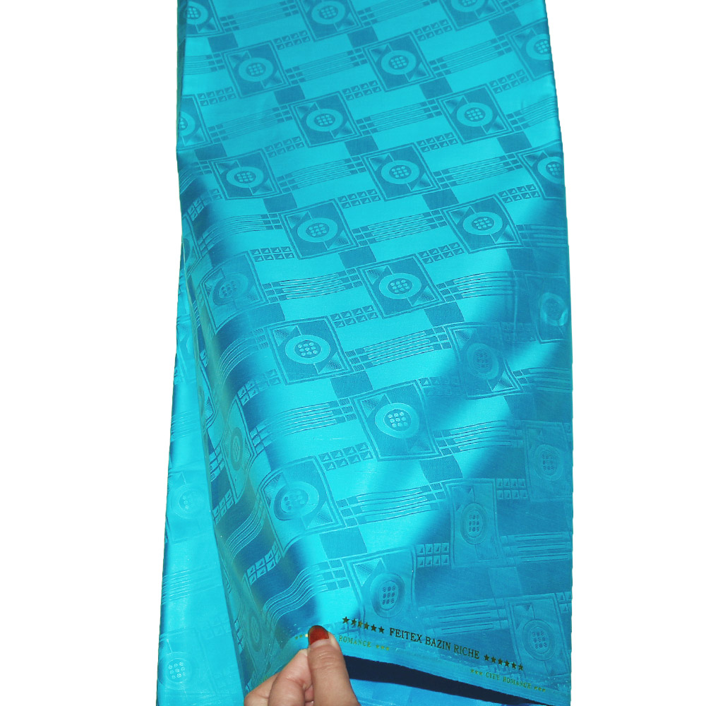 Tissu de brocart de guinée, Bazin Riche de haute qualité (similaire à Getzner) 10 Yards/pc, Tissu de vêtement sénégal Tissu traditionnel africain