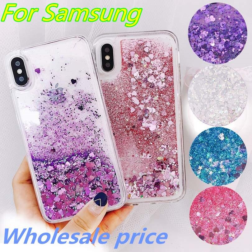 Liquid Soft Silicone Phone Case for Samsung Galaxy S8 S9 S10 Plus S7 Edge J4 J6 J8 A6 A7 A8 A9 2018 J3 J5 J7 2016 A3 A5 A7 2017