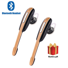 PK HM1000 Bluetooth Earphone Earloop Handsfree Business Sports Headset Stereo Auriculares With Mic For Android For IOS Phones