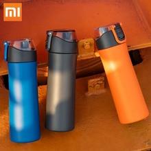 Xiaomi mi jia VIO mi Нержавеющая сталь вакуумный 24 часа в сутки для воды «Умная» бутылка термос одной рукой на