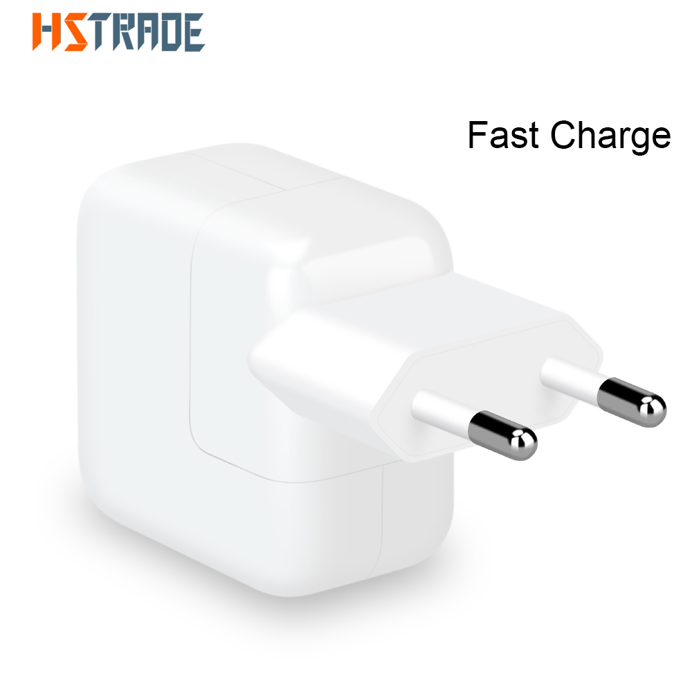 2.4A Быстрая зарядка 10 Вт USB адаптер питания для телефона, путешествия, дома, зарядное устройство для iPhone X 8 Plus 7 6S 5S iPad Mini Air Samsung для Евро ЕС