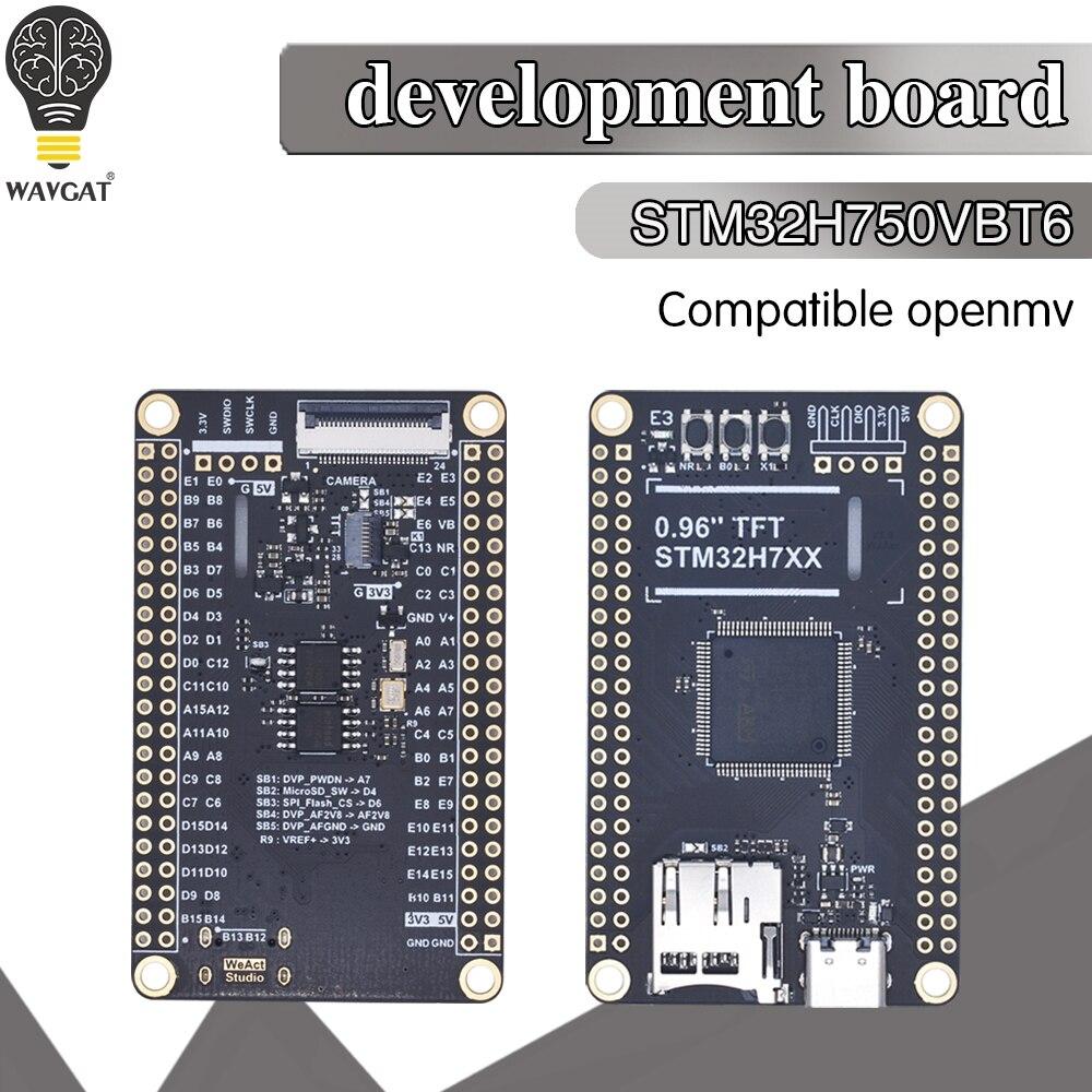 STM32H7 núcleo placa placa de sistema placa kompatibel mit openmv mindest STM32H750VBT6 entwicklung