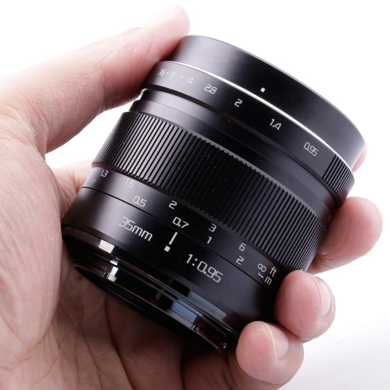 Объектив risepray 35 мм f/0,95 с супер большой диафрагмой, стандартный объектив Mark III для беззеркальной камеры