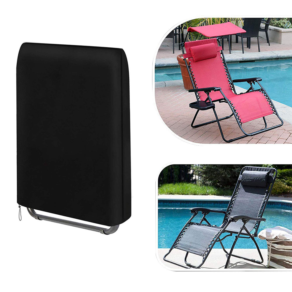 US $8.44 32% OFF|Outdoor Folding Reclining Chair Cover 190T Waterproof Veranda Zero Gravity Outdoor Folding Chairs Cover Garden Sunbed Sun|All Purpose