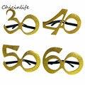 1 шт. 30 40 50 60 очки на день рождения женские 30th 40th 50th 60th День рождения праздничные украшения: воздушные шары для костюмированной вечеринки прин...