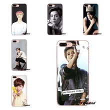 kpop exo luhan Transparent TPU Shell Cases For iPhone XS Max XR X 4 4S 5 5S 5C SE 6 6S 7 8 Plus Samsung Galaxy J1 J3 J5 J7 A3 A5(China)
