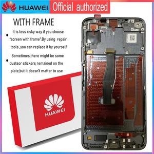 Image 4 - Display original 6.26 polegada para huawei honor 20 honor20 display lcd tela de toque digitador assembléia com quadro para honra 20 lcd